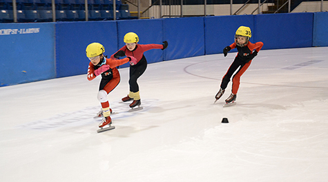Young Speed Skaters